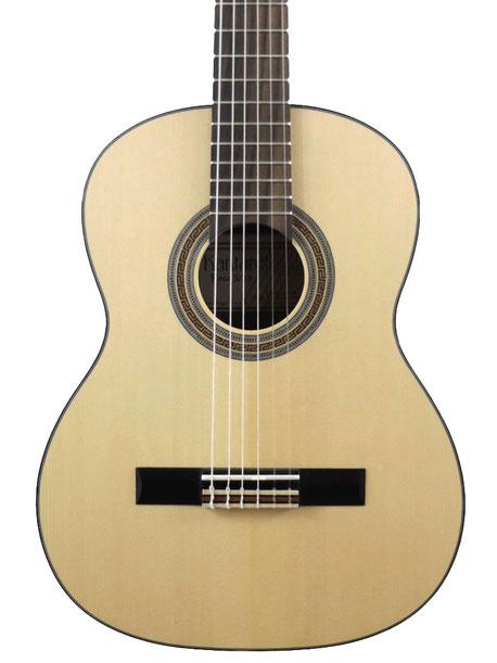 Guitare classique Kantare Poco S/53, diapason 53 cm, modèle 1/2, épicéa