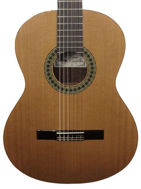 Guitare classique d'étude Paco Castillo 201, cèdre