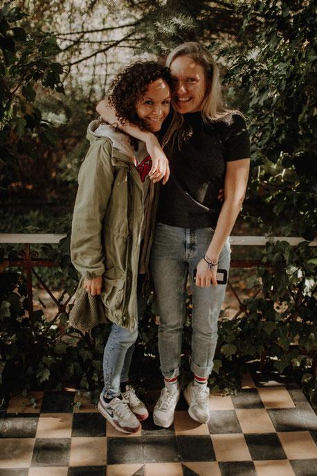 Nicole Noller und Natalie Stanczak (v.l., Bildrechte N. Stanczak)