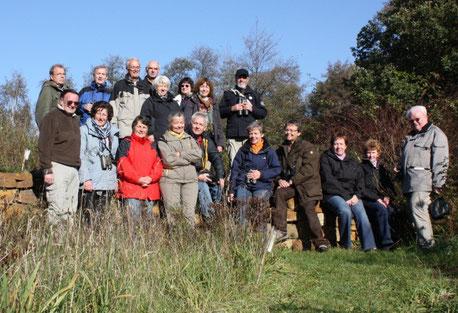 Im Herbst 2011 genossen die NABU-Freunde den Kranichzug in der Diepholzer Moorniederungn