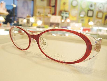 とっても可愛い子供用メガネ「gosh」取扱い開始。Made in Japanで作りも高品質。