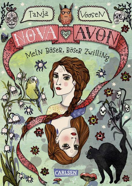 Nova und Avon – Mein böser, böser Zwilling 03|2017 CARLSEN