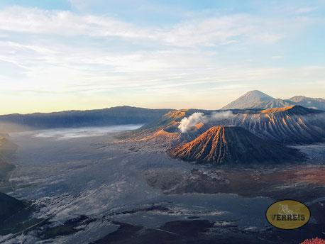 Aussicht auf den Vulkan Bromo