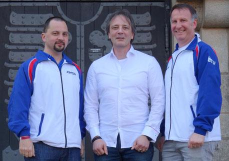 Euer Vorstand v.l.n.r: Wolfgang Kaletta (Schriftführer), Klaus Weidinger (Kassenwart), Klaus Haggenmüller (1. Vorstand)