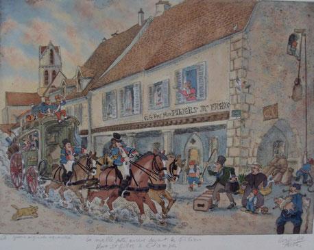 Les piliers-Place St Gilles-Étampes