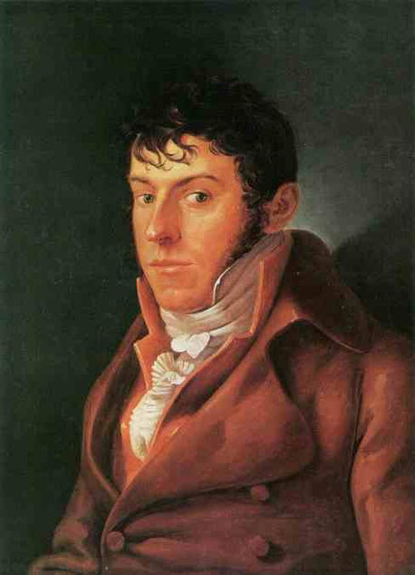 Портрет Фридриха Августа фон фон Кинковстрем. 1808