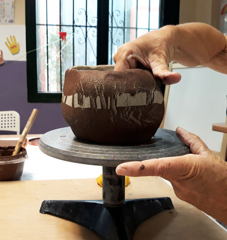 Clase de cerámica  Málaga