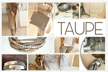 Accessoires in Taupe