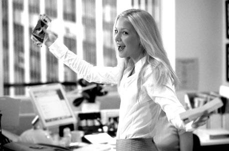 """Kate Hudson dans """"Comment se faire larguer en dix leçons"""". Etre journaliste est la leçon N°1."""