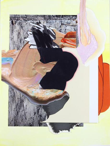 Maja Rohwetter, Gemischte Gefühle#7, Collage, 40 x 30 cm, 2020