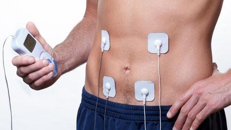 fisioterapia, elettrostimolazione muscolare