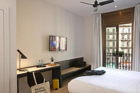 Бюджетные отели, центр Барселоны