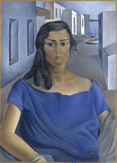 Сальвадор Дали - портрет сестры.