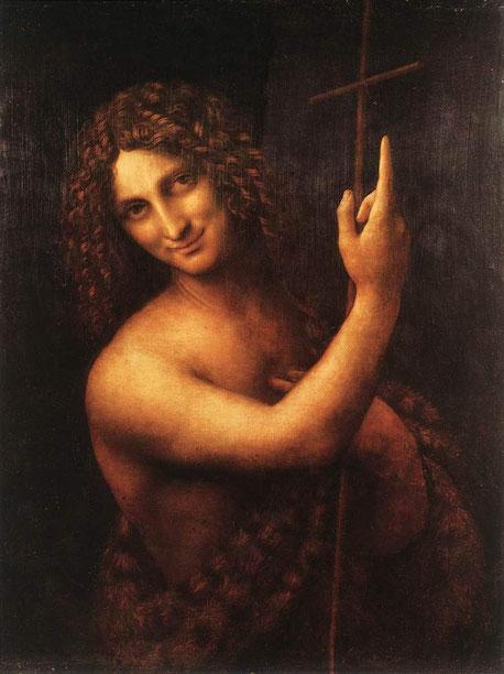 Иоанн Креститель - Леонардо да Винчи