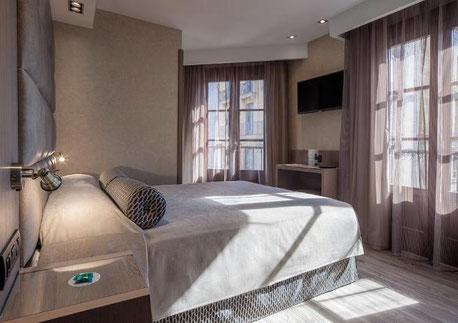 Hotel Suizo отличные трехзвездочные отели в Готическом квартале Барселоны
