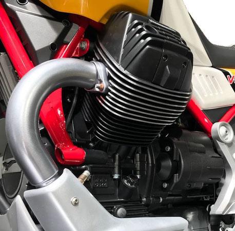 V85 TT V2 Zylinder mit Krümmer