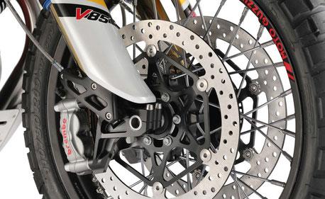 Moto Guzzi V85 TT Brembo Bremsanlage vorne