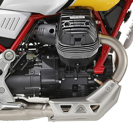V85 TT Motorblock rechte Seite