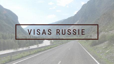 infos visas russie