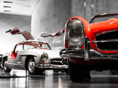 Oldtimer von Mercedes