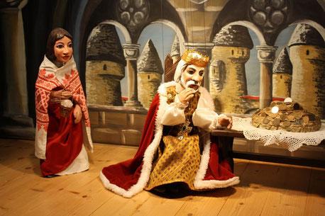 Marionettentheater Märchen an Fäden - Die Salzprinzessin
