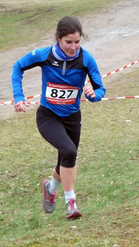 Viola Pulvermacher, hier beim Crosslauf im vergangenen Jahr
