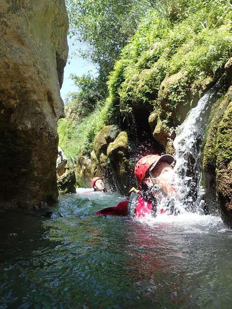 envergure speleo canyon pyrénées