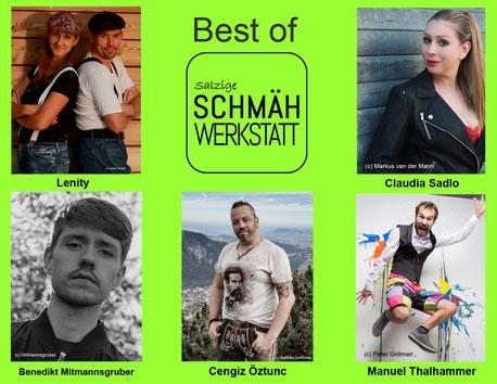 Best of Salzige Schmähwerkstatt - Lenity, Mitmannsgruber, Öztunc, Sadlo, Thalhammer
