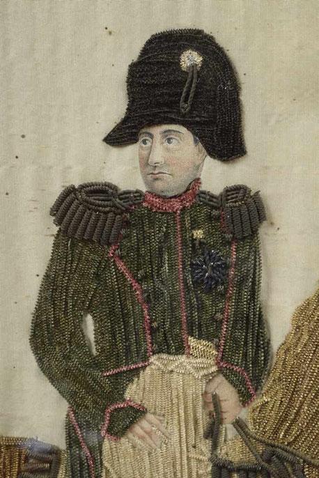 Napoleon Le Grand, Napoleon Boneparte beadwork