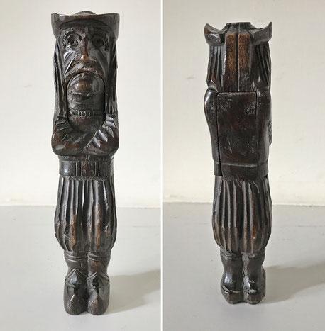 Folk Art Nutcracker in the form of a Dutchman