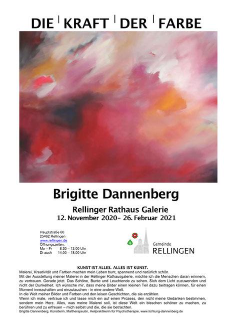 Rellinger Rathaus Galerie - Ausstellung von Brigitte Dannenberg
