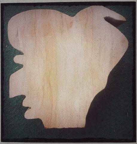 Ringelnatz Kopf aus Sandstein