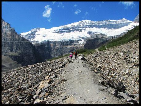 Lac Agnes et Plaine des Six Glaciers