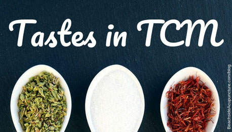 Beachside Acupuncture blog: Tastes in TCM
