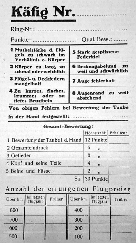 Brieftaube, Brieftaubenausstellung, Verbandsausstellung, Käfigkarte, Verband Deutscher Brieftaubenliebhaber, Brieftaubenzüchter, Geschichte der Brieftaube