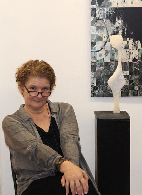 Porträt Heidrun Feistner / Ausstellung Madrid Eka& Moor