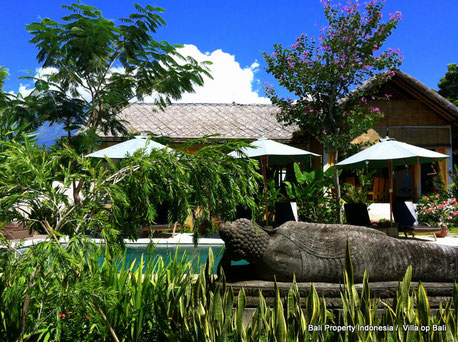 Guest house at North East Bali, Tulamben for sale by owner directly.