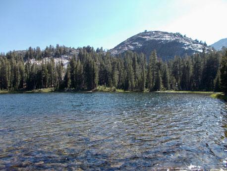 Gladys Lake, ein Paradis für Schwimmer