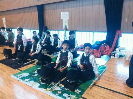 昨日は、東部体育館で剣道の試合がありました。