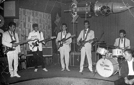 The Tielman Brothers at the Ringstuben (Sputnik), Mannheim 1961