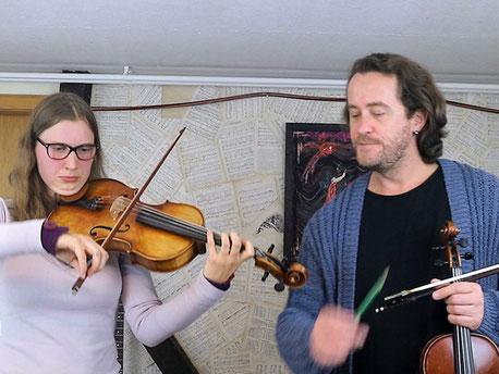 Geigenunterricht mit Shenoll Tokaj, Copyright Shenoll Tokaj 2020