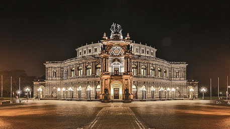 The Semperoper Dresden Elbe Germany cruise river Jewish tour