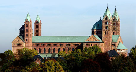 Speyer Cathedral Rhine Germany cruise Jewish tour