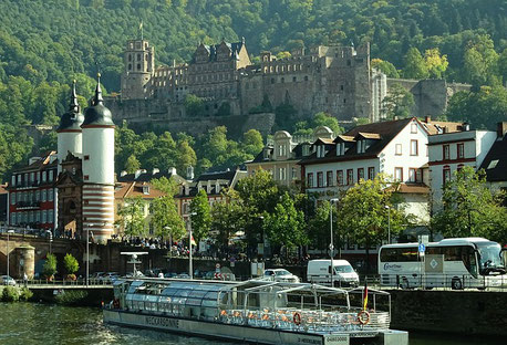 Heidelberg Castle Germany Rhine cruise Jewish tour