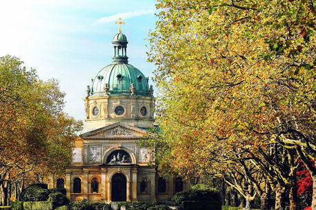 Cemetery Chapel Freiburg Germany private city tour
