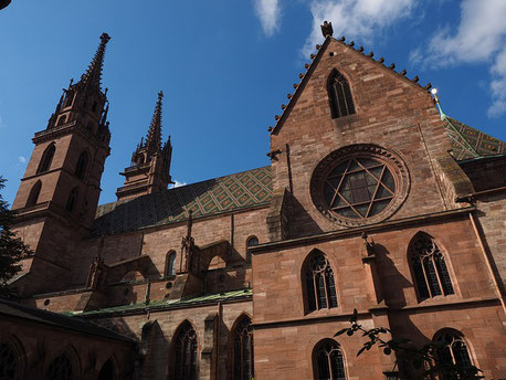 Basel Cathedral Switzerland private city tour