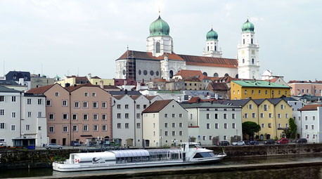 Passau Germany Jewish tours cruise Danube