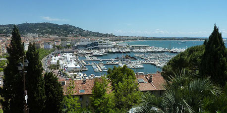 Cannes Harbour France private city tour