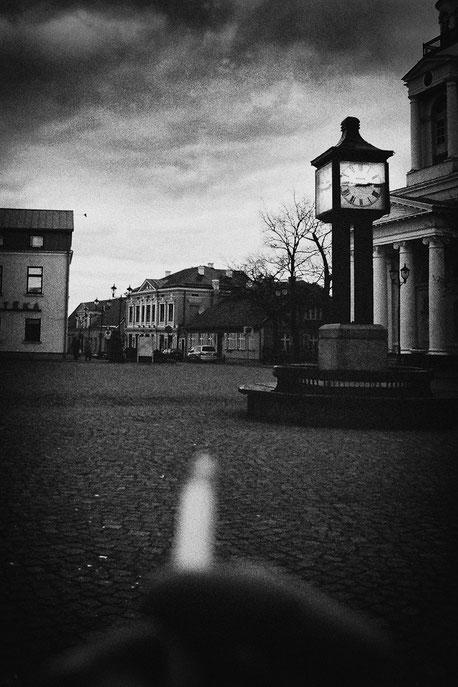 "LATVIA / Ventspils / From the book ""Auftakt"". Smoking, 2009"