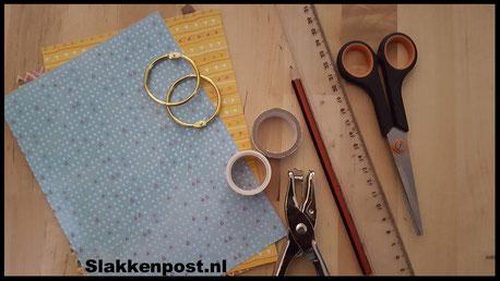 benodigheden waterval flipbook - slakkenpost.nl